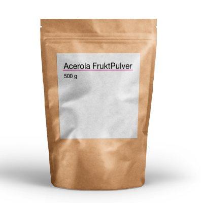 Acerola Fruktpulver 28% Vitamin C 500g