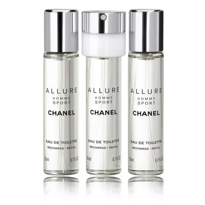 Chanel Allure Homme Sport Giftset 3x20ml