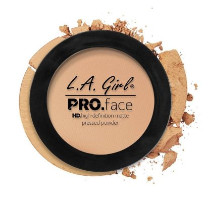 L.A. Girl Pro Face Matte Pressed Powder 05 Nude Beige