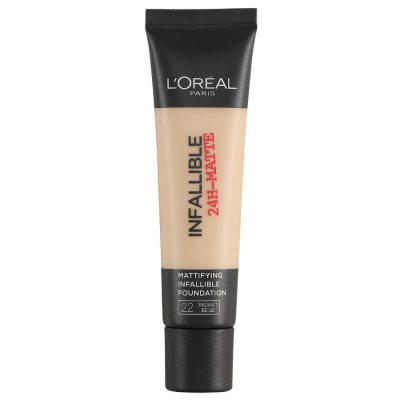 L'Oreal Infallible 24H Matte Foundation 22 Radiant Beige 35ml