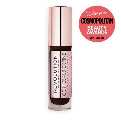 Makeup Revolution Conceal & Define Concealer C18
