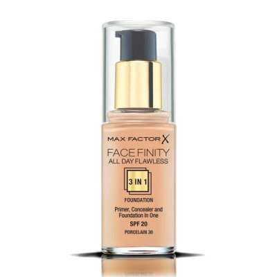 Max Factor Facefinity All Day Flawless 3 in 1 Foundation 30 Porcelain 30ml