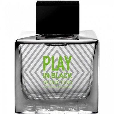 Antonio Banderas Play In Black Seduction edt 100ml